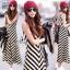 Sevy Arrow Stripes Maxi Dress thumbnail 3