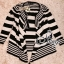 Sevy Korean Knit Striped Cardigan Jacket thumbnail 11