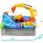 กระบะทราย แมคโคร พร้อมอุปกรณ์ 11 ชิ้น Sandbox game ส่งฟรี thumbnail 8