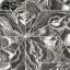 วอลเปเปอร์ลายหินอ่อนมีเส้นขาวแบ่งแฉกเป็นสามเหลี่ยมมีสีดำ เทา ขาวและทอง NVA-D48W thumbnail 2