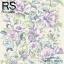 วอลเปเปอร์ลายดอกไม้ภาพวาดโทนสีม่วงอ่อนใบเขียว MET-F112 thumbnail 1