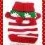 เสื้อน้องหมา ไหมพรมคริสมาสต์ สีแดง-ขาว พร้อมส่ง thumbnail 1
