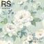 วอลเปเปอร์ลายดอกไม้ภาพวาดโทนสีฟ้าขาว MET-F122 thumbnail 1