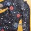 Lady Ribbon's Made Lady Caroline Funny Space Odyssey Printed Shirt Dress thumbnail 19