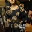 Black Golden Printed Mini dress thumbnail 3
