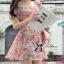 Lady Ribbon's Made Lady Rosie Sweet Flowery Chiffon Mini Dress thumbnail 1