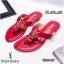 รองเท้าแตะทรงหูคีบมีส้นเล็กน้อยแต้อะไหล่โลโก้ ysl thumbnail 3