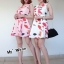 Dress เนื้อผ้านิ่มสวยเว่อร์ ภาพลายพิมพ์คมชัด thumbnail 2