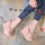 รองเท้าส้นเตารีดแฟชั่น แบบส้นตึกอันดับหมุดทองด้านหน้าส้นสูงประมาณ 4.5 นิ้ว thumbnail 2