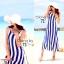 Cliona Made ,Body Shape Stripe Line Maxi Dress thumbnail 1
