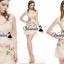 Vivivaa recommend Cream glitter flora dress thumbnail 4