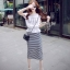 Cliona made' Korean Summer Shirt + Beeline Skirt Set thumbnail 2