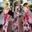 Sevy Sweet Summer Vacation Pink Beach Maxi Dress thumbnail 1