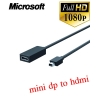 Microsoft Surface hdmi adapter mini displayport to hdmi 23.5cm