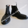 รองเท้าThom Browne Scotch Grain Wingtip Zip Boots