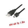 ส่ายUSB 2.0 Am to mini usb 5p 1.8m แบบดี
