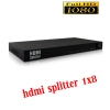 HDMI splitter เข้า1ออก8จอ FULL HD 3D เวอร์ชั่น1.4 -black
