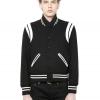 เสื้อSaint Laurent Teddy Baseball Jacket