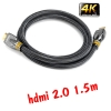 Linoya 24k สายhdmi cable V1.4 FULL HD 3D 2160P ยาว1.5m