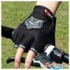 ถุงมือตัดนิ้ว สีดำ