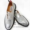 รองเท้าTHOM BROWNE METALLIC BROGUES WINGTIPS