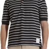 เสื้อThom Browne Five Button Stripe Polo