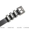เข็มขัดหนัง SAINT LAURENT -2CM Leather Belt