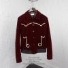 เสื้อแจ็คเก็ตSaint Laurent- Musical Note Song Teddy Jacket