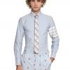 เสื้อเชิ้ตThom Browne Blue Stiped Shirt