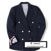 เสื้อ Thom Browne Jacket Classic Double Breasted