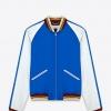เสื้อSaint Laurent Satin Bomber Jacket