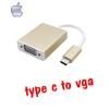 สายแปลงUSB 3.1 Type C to VGA ต่อจอ Projector