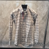 เสื้อเชิ้ตTHOM BROWNE Gingham In Grey Oxford Shirt (Engraved Grade 1:1)