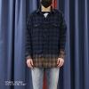 เสื้อเชิ้ตSaint Laurent - Raw Edge 2 Tone Shirt
