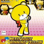 HGPG 1/144 PETIT'GGUY WINNING YELLOW