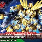 BB394 UNICORN GUNDAM 03 PHENEX
