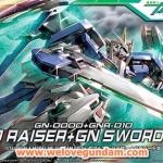 HG 1/144 OO RAISER+GN SWORD Ⅲ