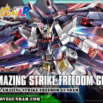 HGBF 1/144 AMAZING STRIKE FREEDOM GUNDAM