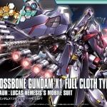 HGBF 1/144 CROSSBONE GUNDAM X1 FULL CLOTH Ver. GBF