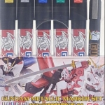 ชุด Gundam Metallic Marker Set