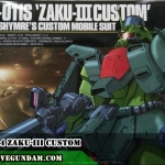HGUC 1/144 ZAKU-III CUSTOM
