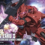 HG 1/144 CHAR'S ZAKUⅡ [Gundam The Original]