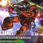 HG 1/144 MS-05S CHAR AZNABLE'S ZAKU I