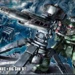 HG 1/144 Zaku II + Big Gun [Gundam Thunderbolt Anime Ver.]