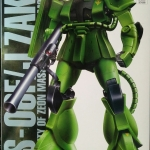MG 1/100 MS-06F/J ZAKU II (COATING VERSION)
