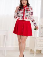 Code #PluseSizeDress002 เซ็ตเสื้อ+กระโปรงสาวอวบ แบบสวยงานเลอค่ามากค่ะ สินค้าเหมือนแบบ 100% ค่ะ งานเนี๊ยบ ตัดเย็บ เนื้อผ้าคุณภาพใส่สบายมากๆ พร้อมส่งค่ะ