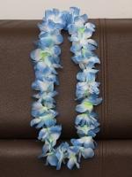 พวงมาลัยฮาวาย พวงมาลัยดอกไม้ พวงมาลัยแฟนซี ฟ้าขาว
