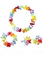ชุดพวงมาลัยฮาวาย พวงมาลัยดอกไม้แฟนซี เล็ก
