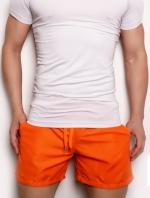 กางเกงขาสั้นชายหาด ส้ม