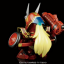 "SDBF RED WARRIOR ""KURENAI MUSHA"" AMAZING thumbnail 7"